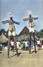 afr100009 - African Life Postcard Post Card