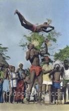 afr100013 - African Life Postcard Post Card