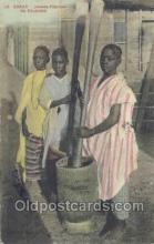 afr100015 - Dakar African Life Postcard Post Card