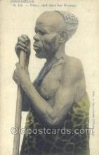 afr100021 - Congo Belge African Life Postcard Post Card