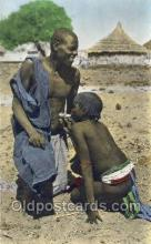 afr100023 - African Life Postcard Post Card