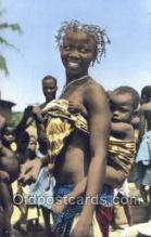 afr100030 - African Life Postcard Post Card