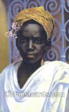 afr100036 - African Life Postcard Post Card