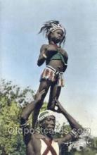 afr100038 - African Life Postcard Post Card