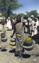 afr100042 - Abeche African Life Postcard Post Card
