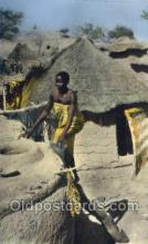 afr100046 - African Life Postcard Post Card