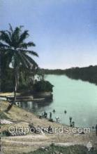 afr100049 - Mouila African Life Postcard Post Card