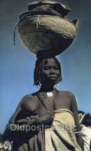 afr100053 - Abeche African Life Postcard Post Card