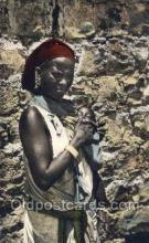 afr100057 - African Life Postcard Post Card