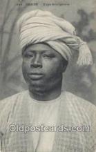afr100074 - Dakar African Life Postcard Post Card