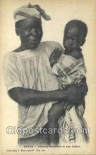 afr100077 - Dakar African Life Postcard Post Card