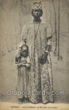 afr100078 - Senegal African Life Postcard Post Card