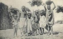 afr100102 - Senegal African Life Postcard Post Card