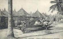 afr100104 - Senegal African Life Postcard Post Card