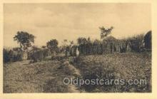 afr100118 - Ruanda African Life Postcard Post Card