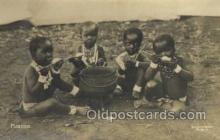 afr100178 - Picanins African Life Postcard Post Card