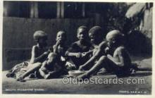 afr100183 - Basuto Piccannins Dining African Life Postcard Post Card