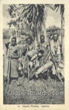afr100215 - Uganda African Life Postcard Post Card