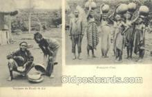 afr100245 - African Life Postcard Post Card
