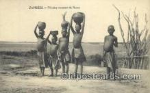 afr100249 - Zambeze African Life Postcard Post Card