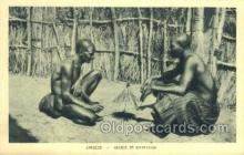 afr100250 - Zambeze African Life Postcard Post Card
