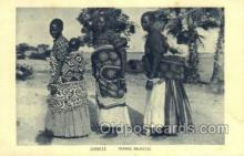 afr100251 - Zambeze African Life Postcard Post Card