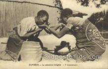 afr100260 - Zambeze African Life Postcard Post Card