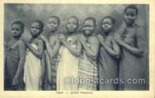 afr100266 - Gabon African Life Postcard Post Card