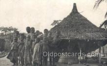 afr100270 - Abidjan African Life Postcard Post Card