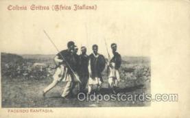 afr100272 - Colnioa Eritrea African Life Postcard Post Card