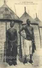 afr100283 - Guinea African Life Postcard Post Card