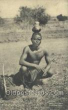 afr100325 - A Matabele Boy African Life Postcard Post Card