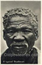 afr100336 - Typical Bushman African Life Postcard Post Card