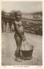 afr100345 - Freetown African Life Postcard Post Card