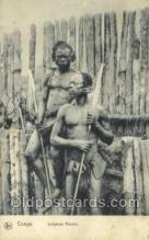 afr100367 - Congo Belge African Life Postcard Post Card