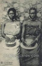 afr100368 - Congo Belge African Life Postcard Post Card