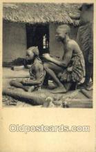 afr100369 - Congo Belge African Life Postcard Post Card