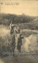 afr100372 - Congo Belge African Life Postcard Post Card
