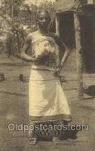 afr100373 - Congo Belge African Life Postcard Post Card