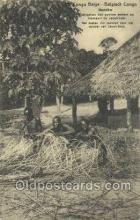 afr100374 - Congo Belge African Life Postcard Post Card