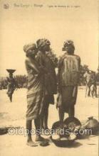 afr100377 - Congo Belge African Life Postcard Post Card