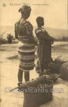 afr100378 - Congo Belge African Life Postcard Post Card