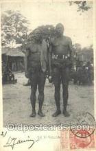 afr100384 - Congo Belge African Life Postcard Post Card