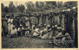 afr100390 - Congo Belge African Life Postcard Post Card