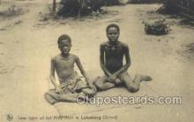 afr100392 - Congo Belge African Life Postcard Post Card