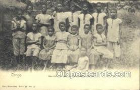 afr100393 - Congo Belge African Life Postcard Post Card