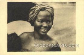 afr100396 - Oubangui African Life Postcard Post Card