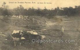 afr100398 - Congo Belge African Life Postcard Post Card
