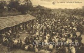 afr100399 - Congo Belge African Life Postcard Post Card
