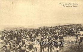 afr100400 - Congo Belge African Life Postcard Post Card